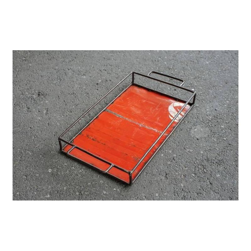 Plateau - couleur orange