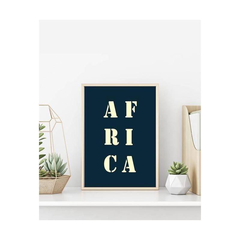 Affiche Africa