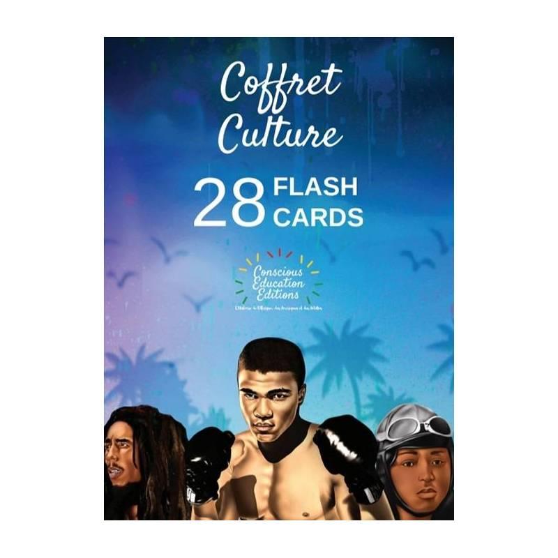Coffret Culture. 28 Flash Cards