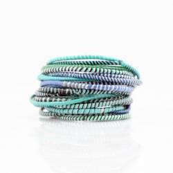 Bracelets en plastique recyclé