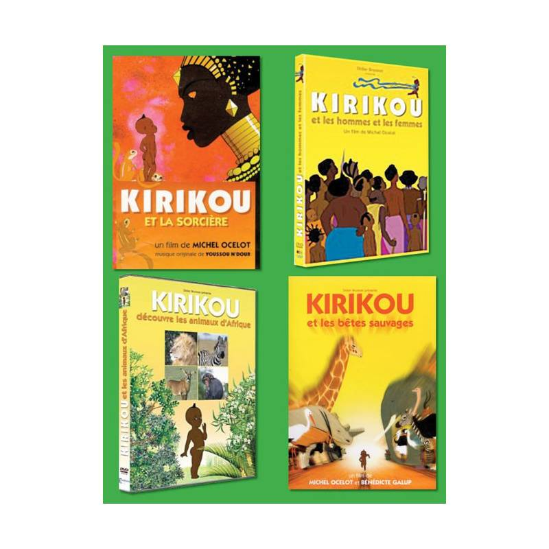 Kirikou l'intégrale - 4 DVD