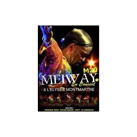 DVD Meiway en concert à l'Elysée Montmartre