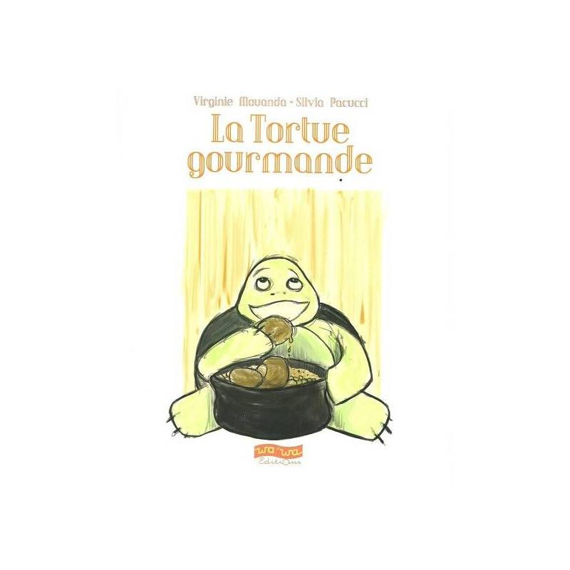 La tortue gourmande de Virginie Mouanda et Silvia Pacucci