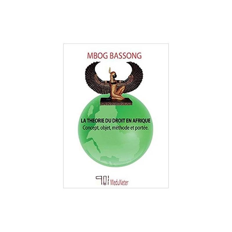 La théorie du droit en Afrique - Concept, objet, méthode et portée de Mbog Bassong
