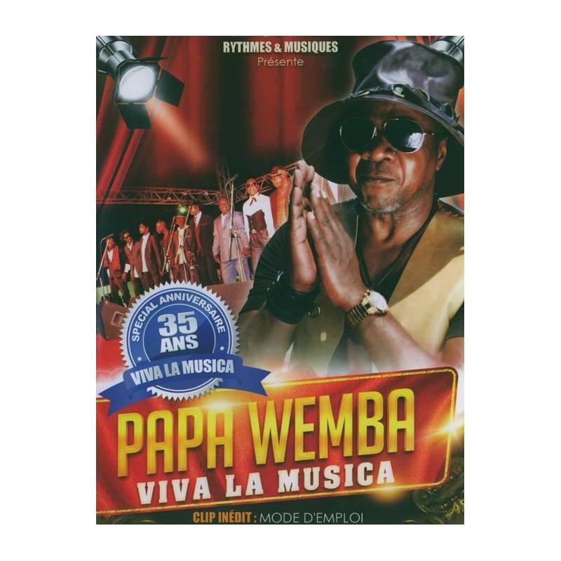 DVD Papa Wemba - Viva la Musica