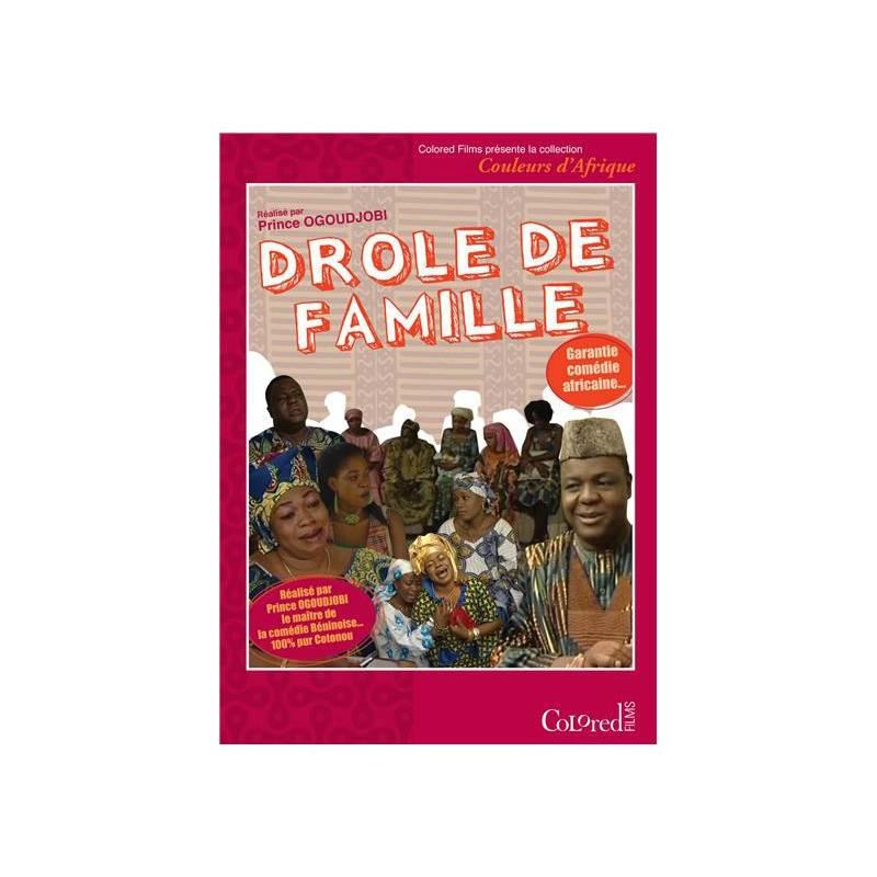 Drôle de famille de Prince Ogoudjobi