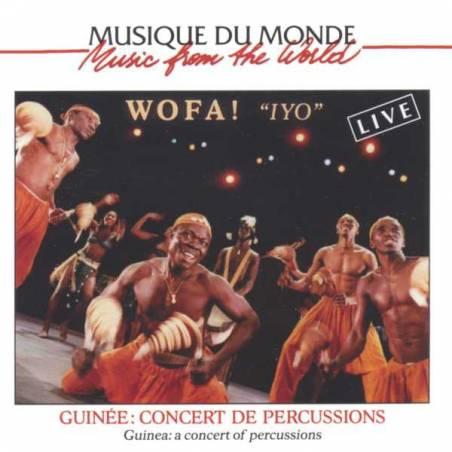 """Wofa """" Iyo """" - Concert de percussions de Guinée"""