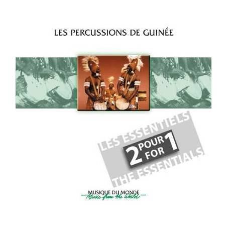 Les percussions de Guinée - double CD