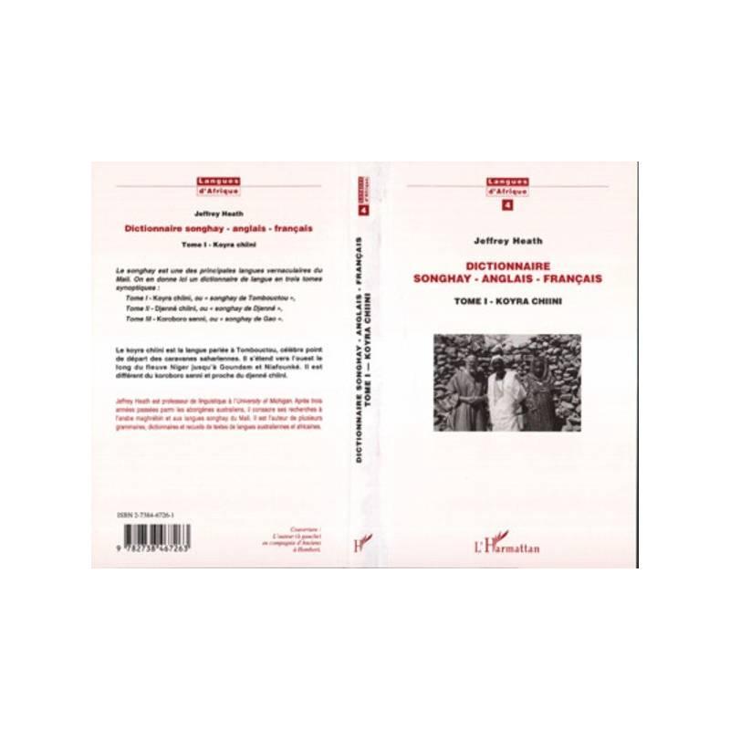 Dictionnaire Songhay-Anglais-Français
