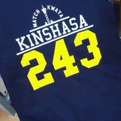 T-shirt KINSHASA 243