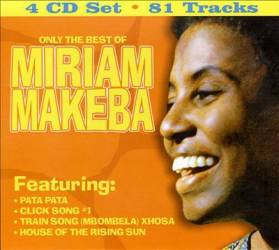 Miriam Makeba - Only the best (4 CD - 81 titres)
