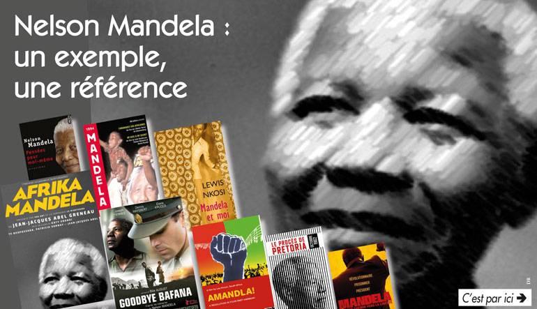Tous les livres et films sur Nelson Mandela