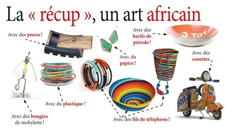 La récup, un art africain !